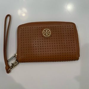Tory Burch Perforated Robinson Wallet
